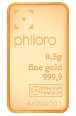 0,5g Goldbarren