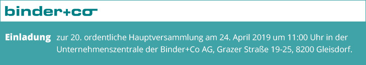 https://www.binder-co.at/894/Investoren#Hauptversammlung